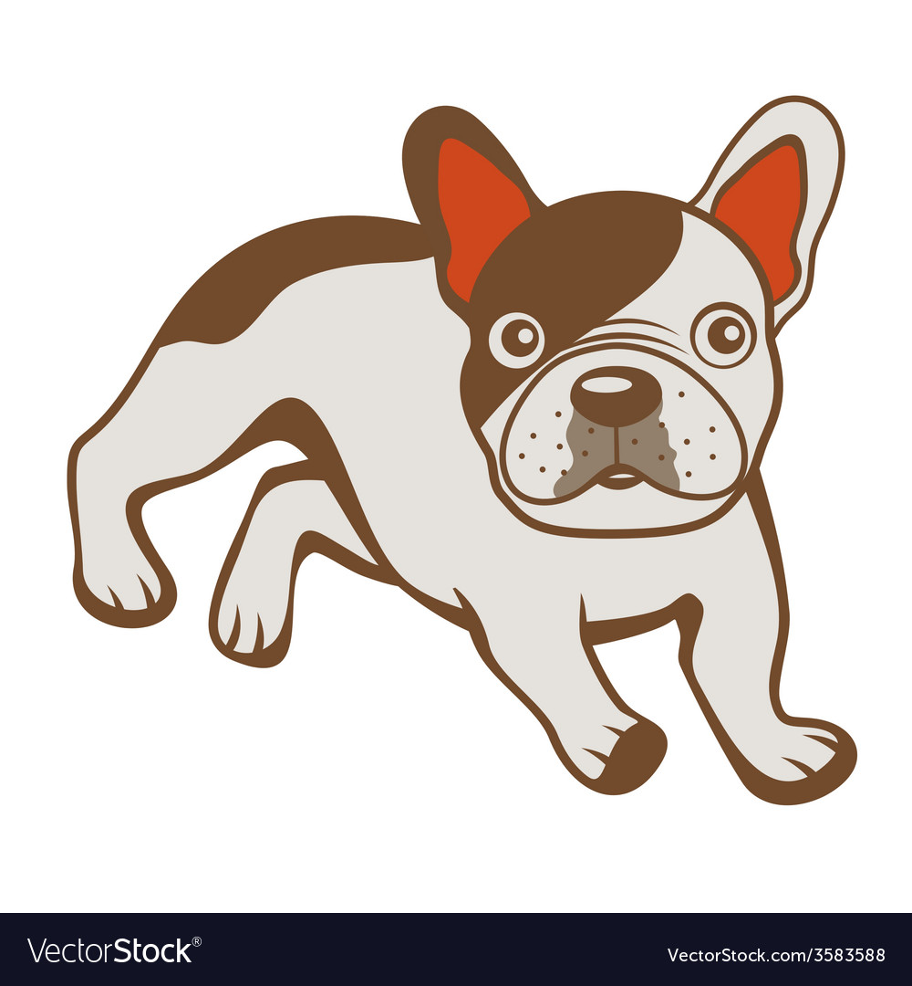 French bulldog vector | Price: 1 Credit (USD $1)