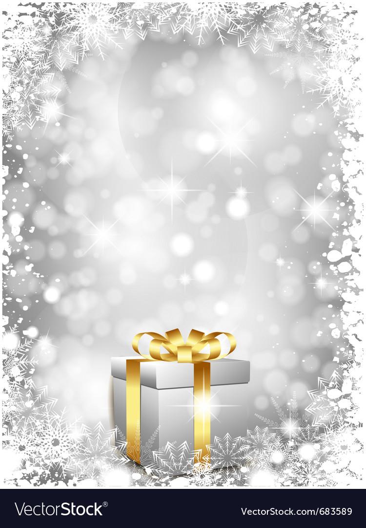 Luxury christmas gift vector | Price: 1 Credit (USD $1)
