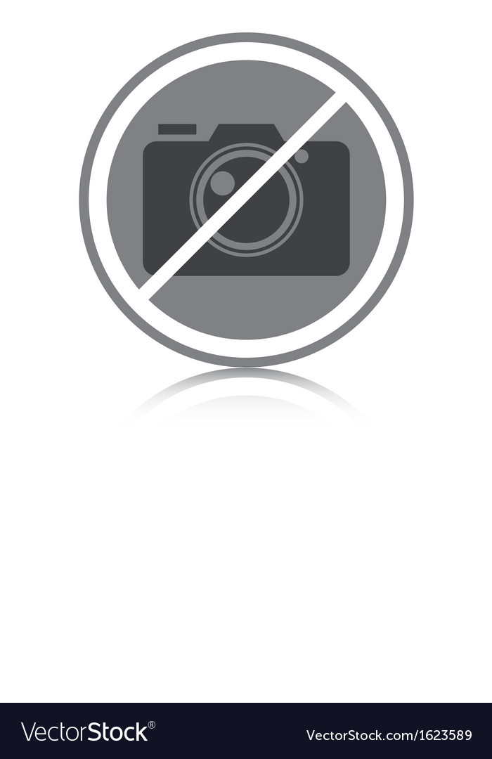 No photography allowed vector | Price: 1 Credit (USD $1)