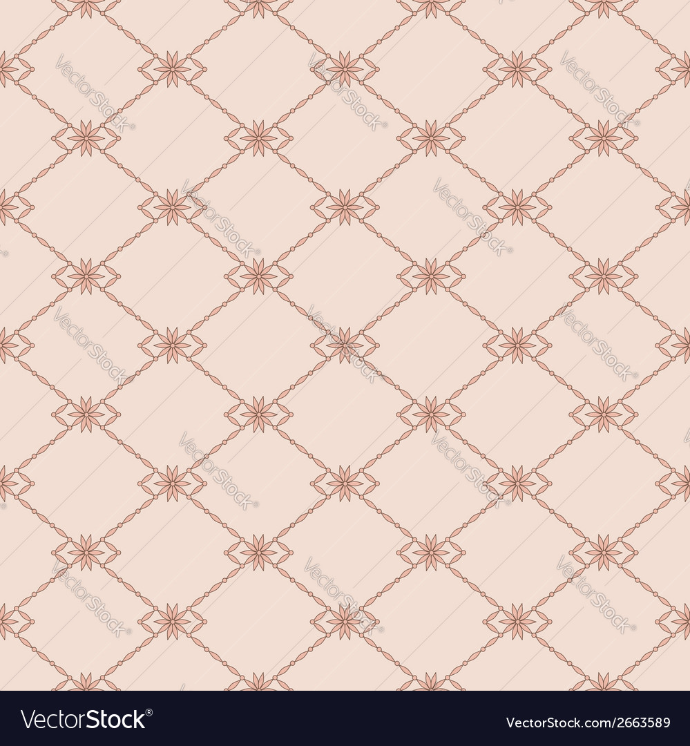 Seamless pink pattern vector | Price: 1 Credit (USD $1)