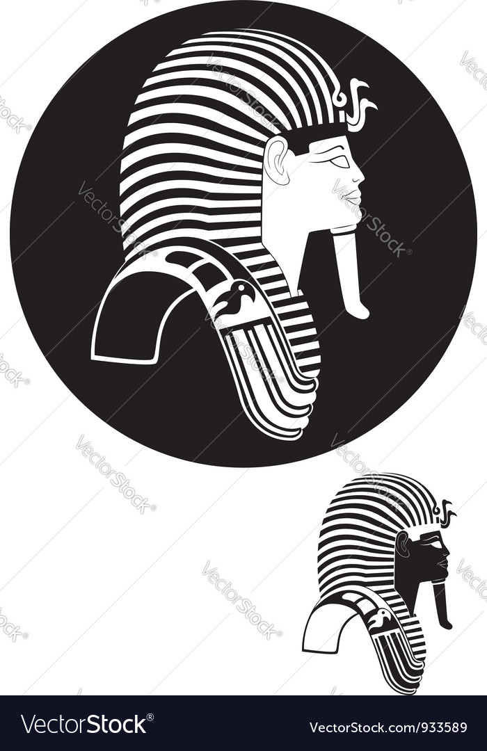 Tutankhamun vector | Price: 1 Credit (USD $1)