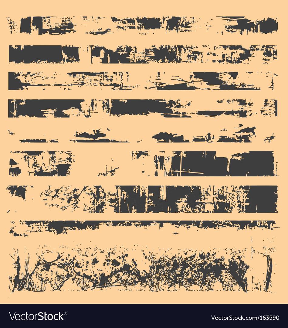 Grunge strips vector | Price: 1 Credit (USD $1)