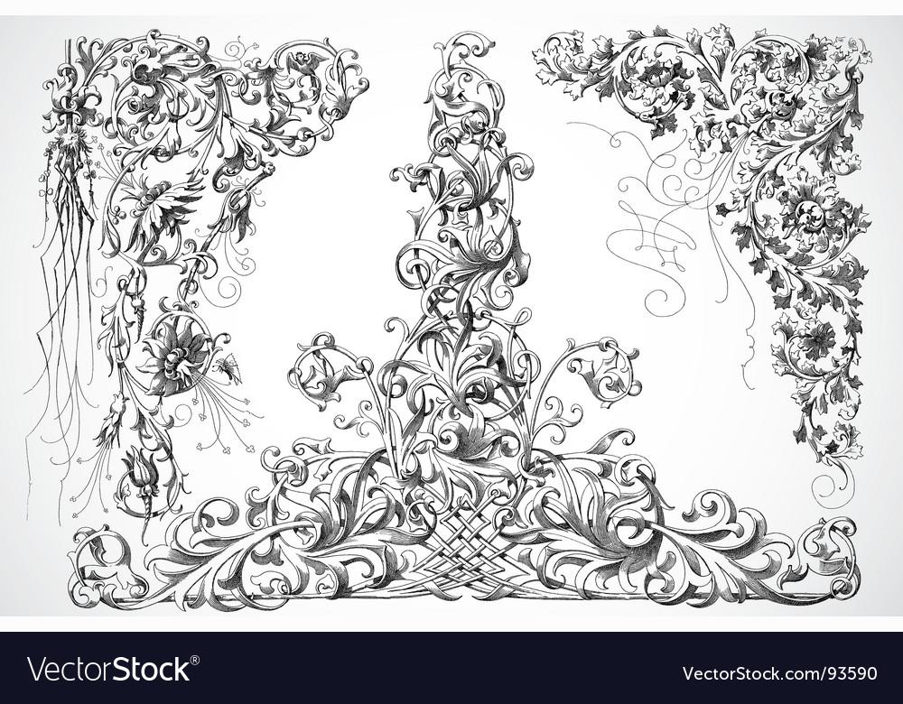 Ornaments vector   Price: 1 Credit (USD $1)