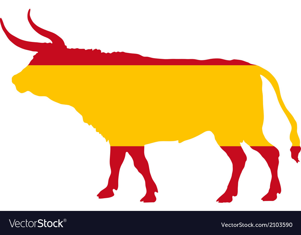 Spanish bull vector | Price: 1 Credit (USD $1)