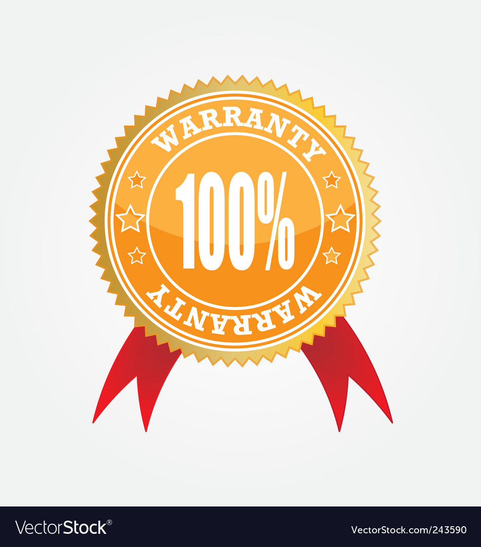 Warranty vector | Price: 1 Credit (USD $1)