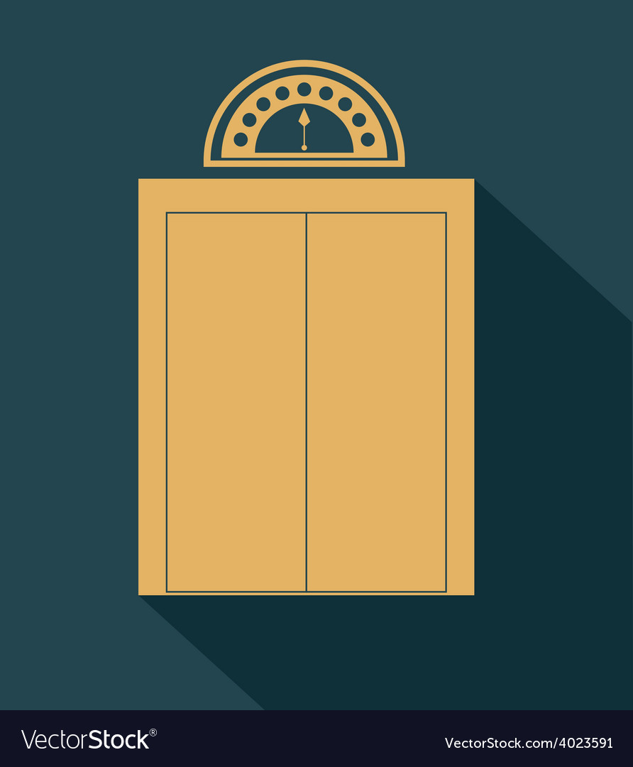Elevator up down desing over vector | Price: 1 Credit (USD $1)
