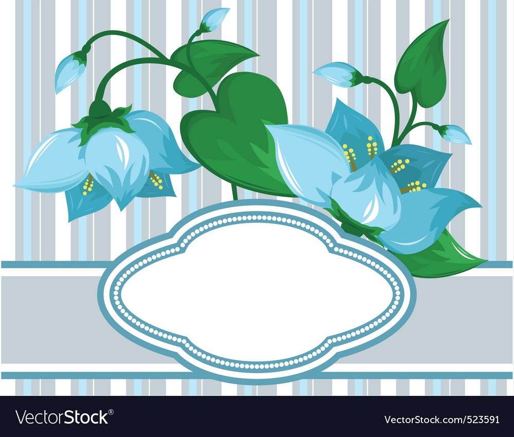 Floral pattern with space for vector | Price: 1 Credit (USD $1)