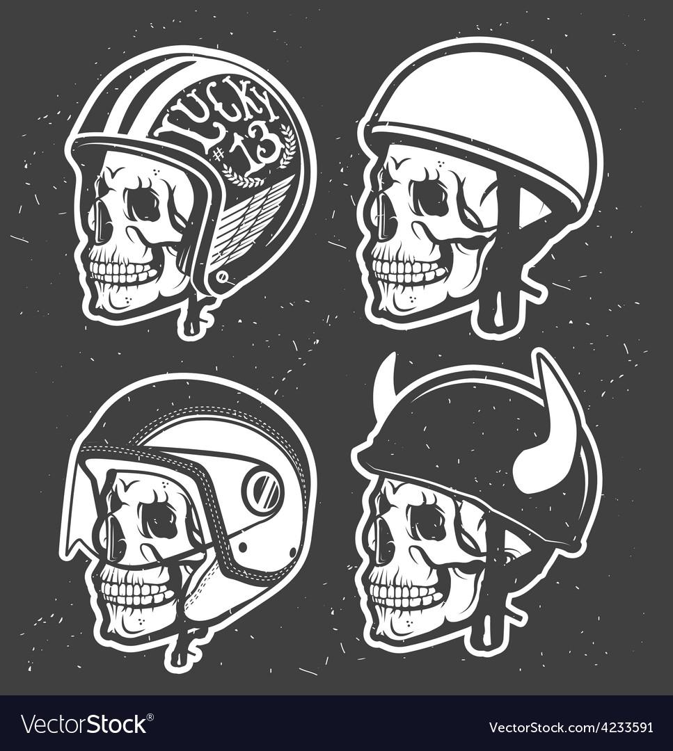 Motorcycle helmet vector | Price: 3 Credit (USD $3)