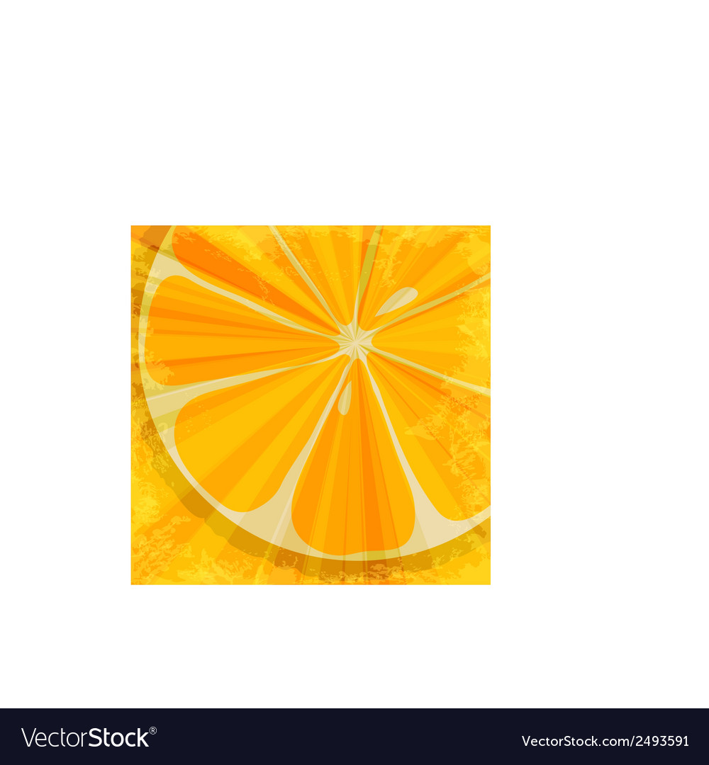 Orange fruit background vector | Price: 1 Credit (USD $1)