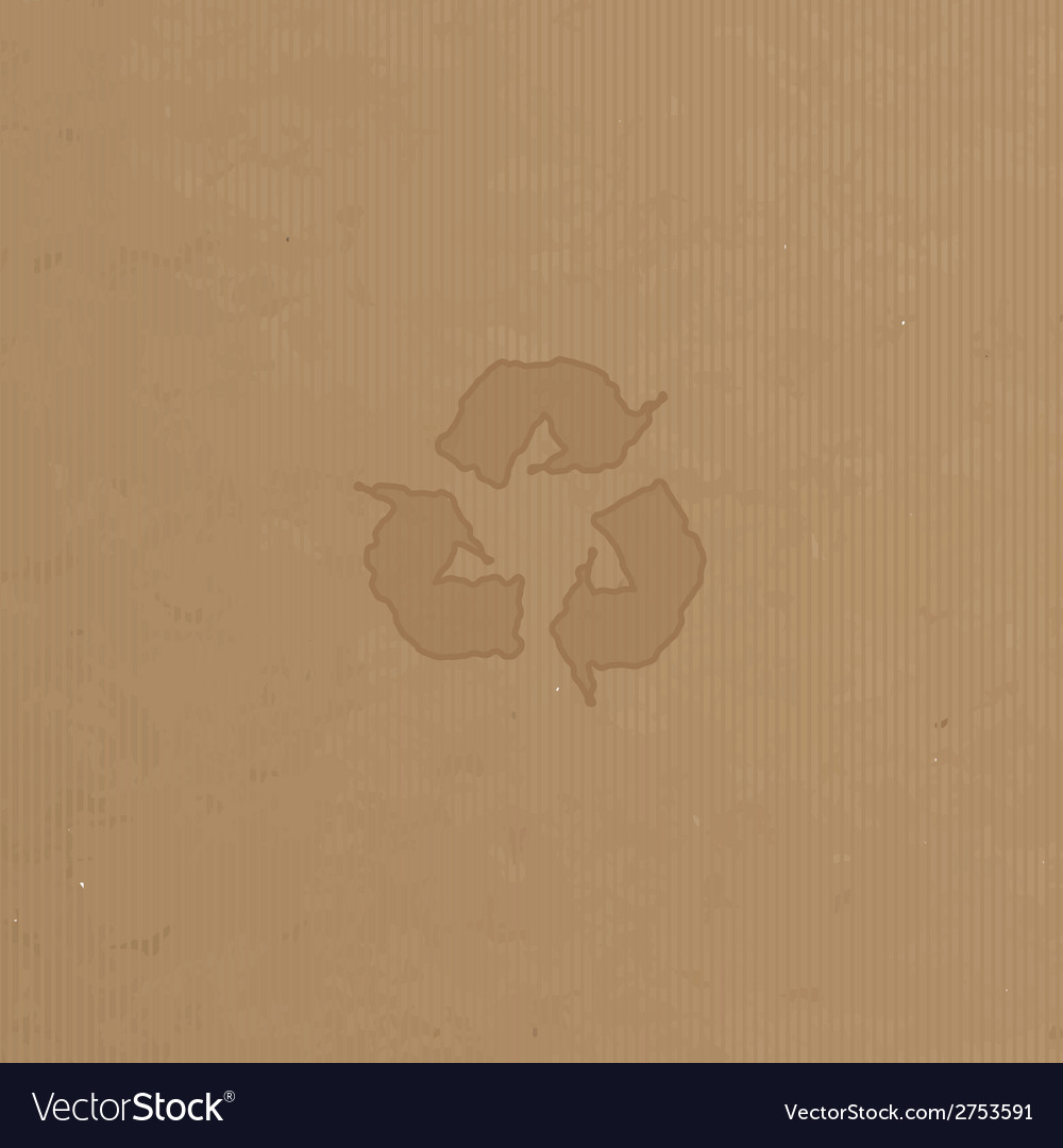 Reuse reduce recycle poster design on paper vector | Price: 1 Credit (USD $1)