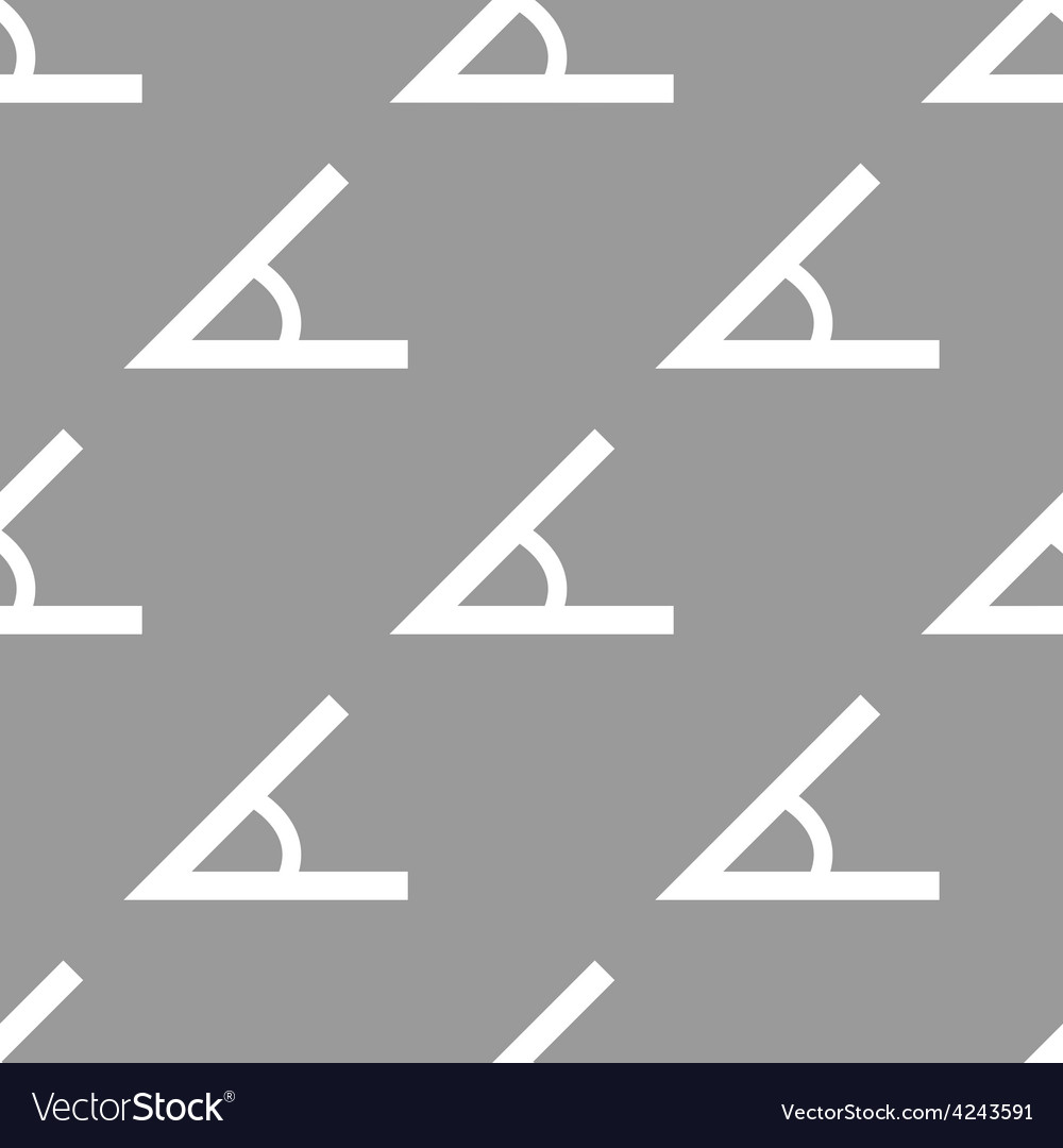 Sign of the angle seamless pattern vector | Price: 1 Credit (USD $1)