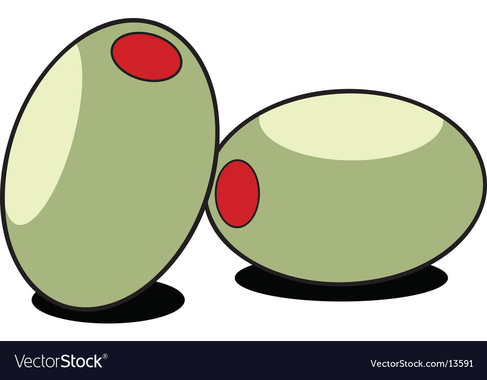 Stuffed olives vector | Price: 1 Credit (USD $1)