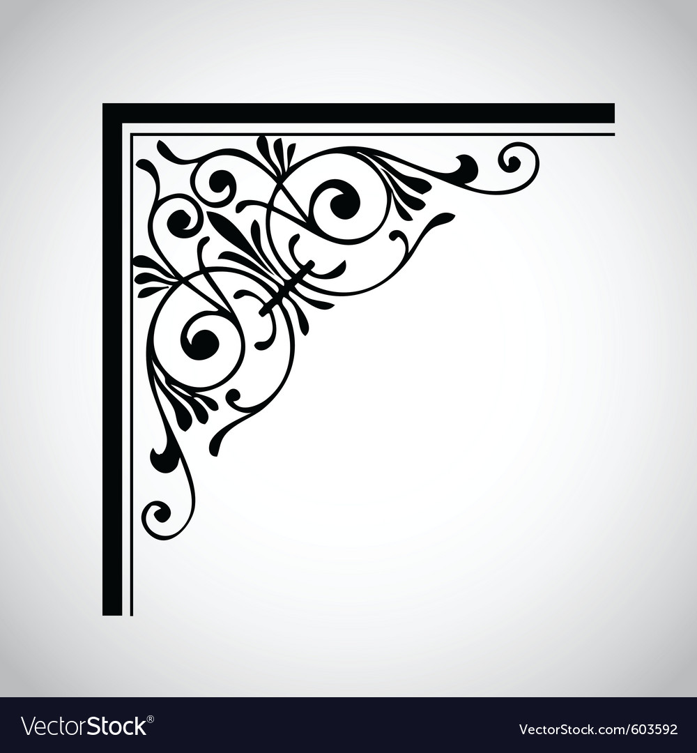 Decorative vintage design element 4 vector | Price: 1 Credit (USD $1)