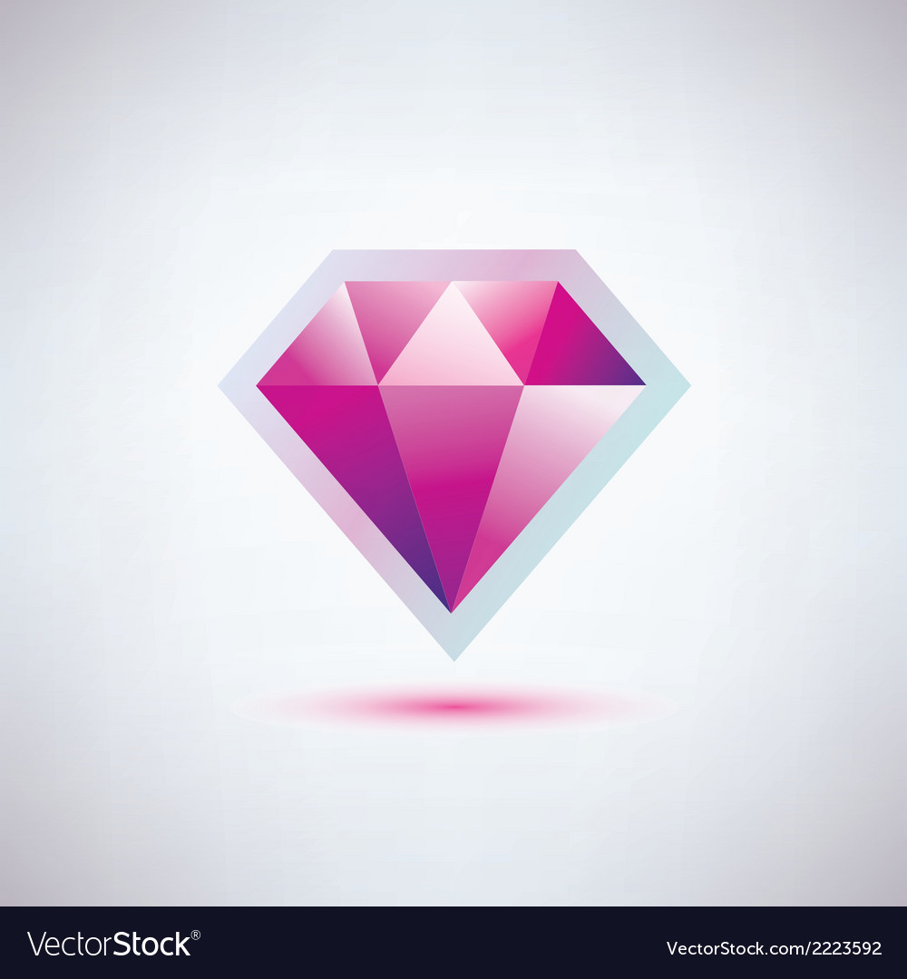 Gem symbol vector | Price: 1 Credit (USD $1)