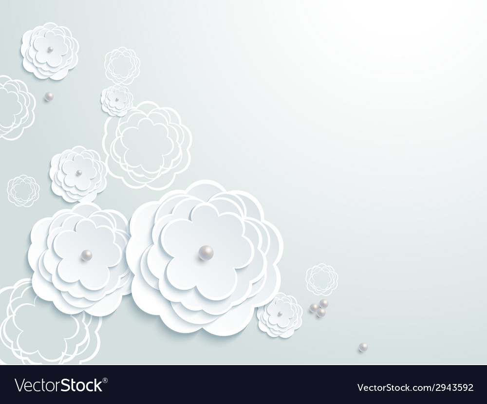 Lovely wedding paper card element pattern design vector | Price: 1 Credit (USD $1)