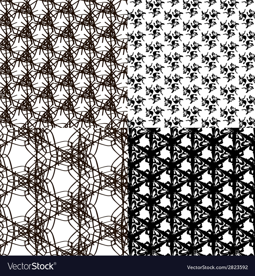 Set pattern - geometric simple modern texture for vector | Price: 1 Credit (USD $1)