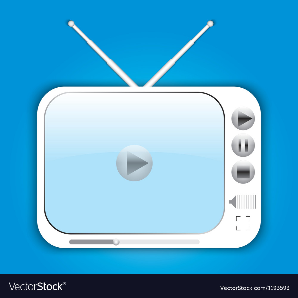Digital tv vector | Price: 1 Credit (USD $1)