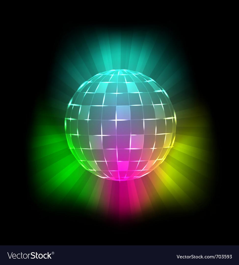 Disco ball vector | Price: 3 Credit (USD $3)