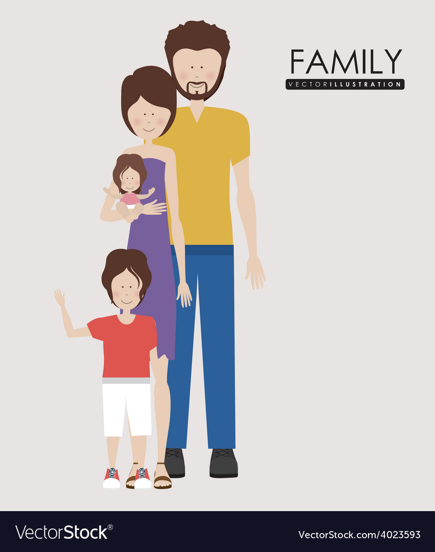 Family desing vector | Price: 1 Credit (USD $1)