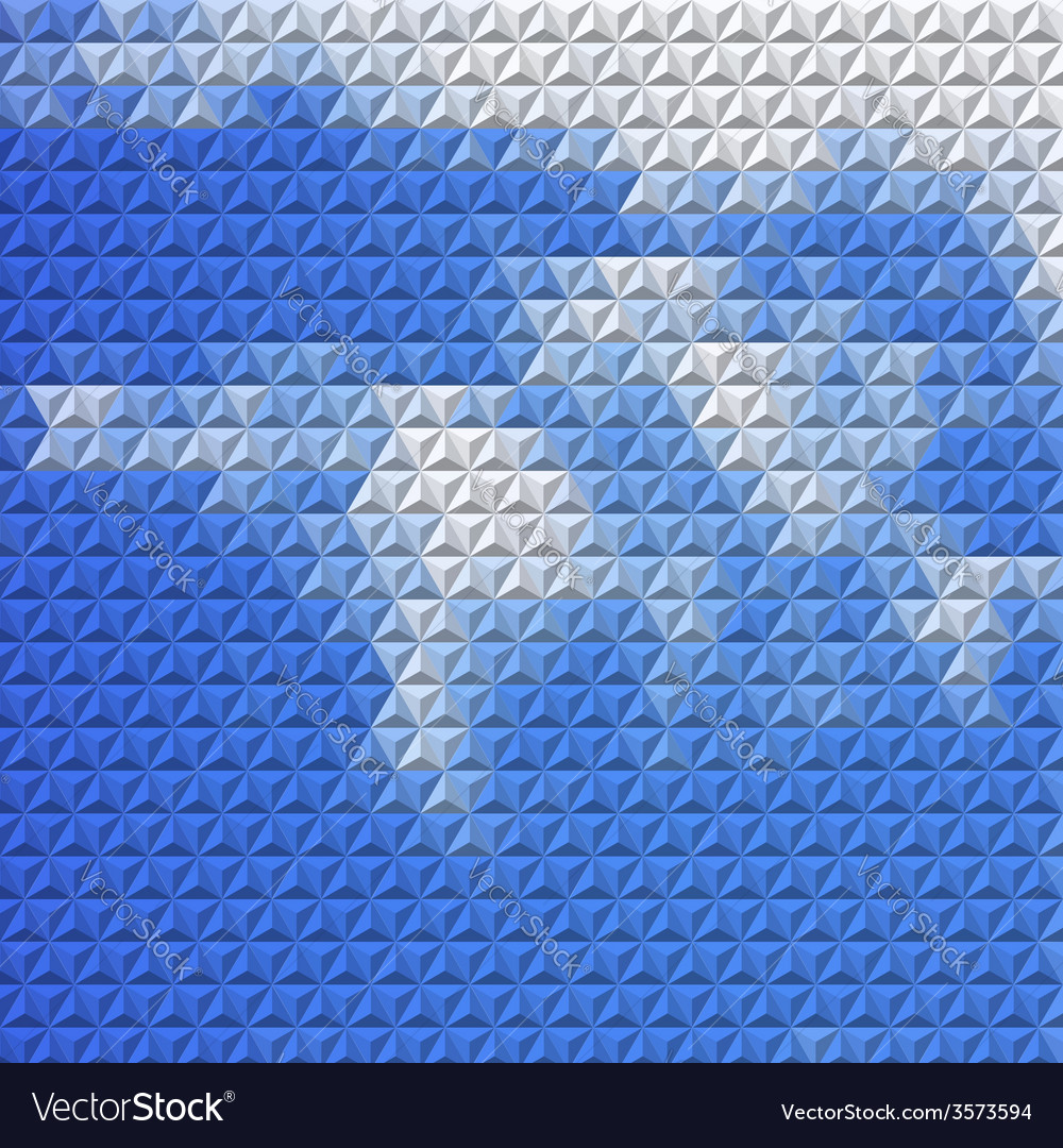 Abstract background with mosaic clouds vector | Price: 1 Credit (USD $1)