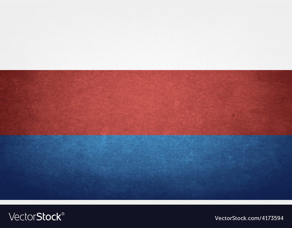 Grunge flag of russia vector | Price: 1 Credit (USD $1)