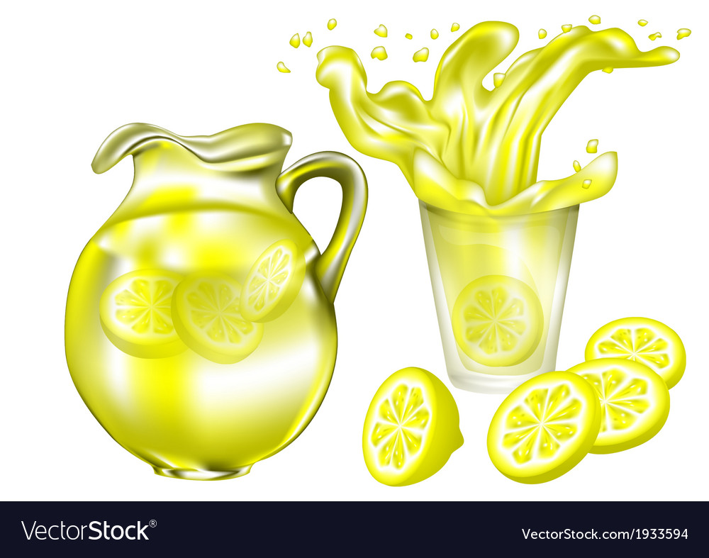 Lemonade vector | Price: 1 Credit (USD $1)