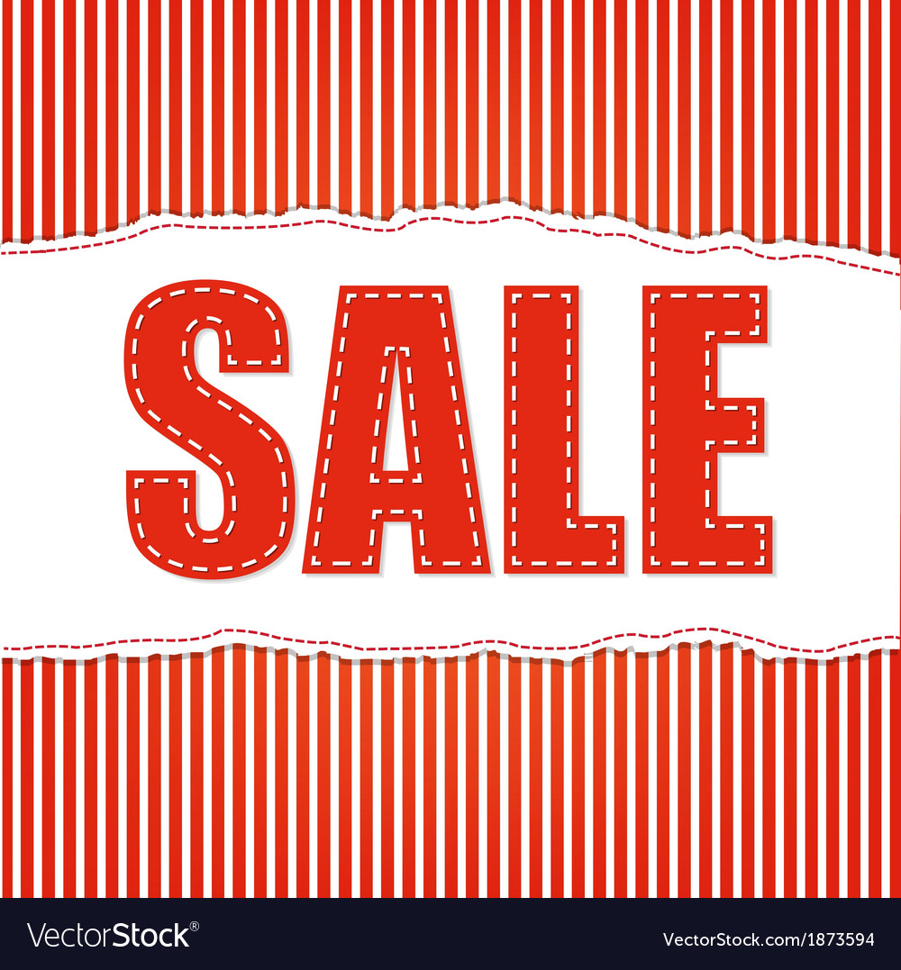 Red sale background vector   Price: 1 Credit (USD $1)
