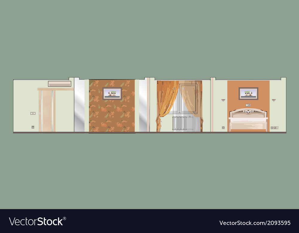 04 residential interior v vector | Price: 1 Credit (USD $1)