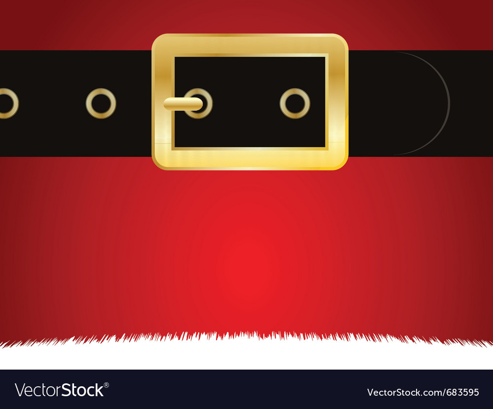 Christmas buckle vector | Price: 1 Credit (USD $1)
