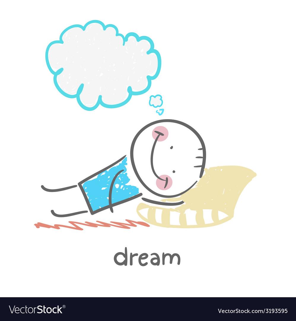 Dream vector | Price: 1 Credit (USD $1)