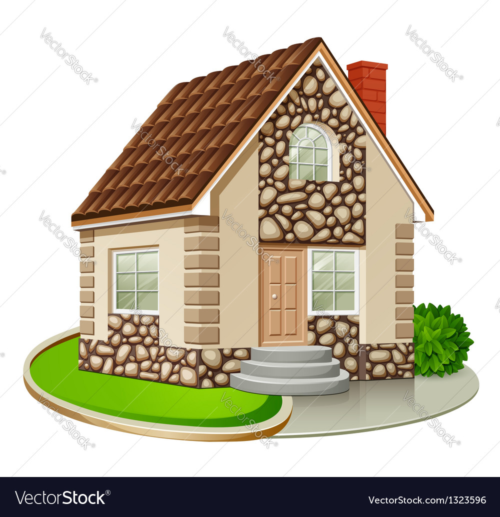 House vector | Price: 1 Credit (USD $1)