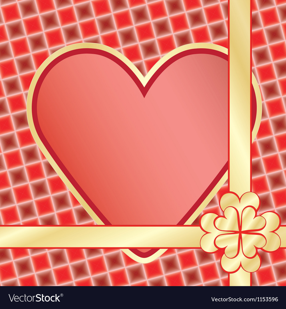 Present for day of valentine vector | Price: 1 Credit (USD $1)