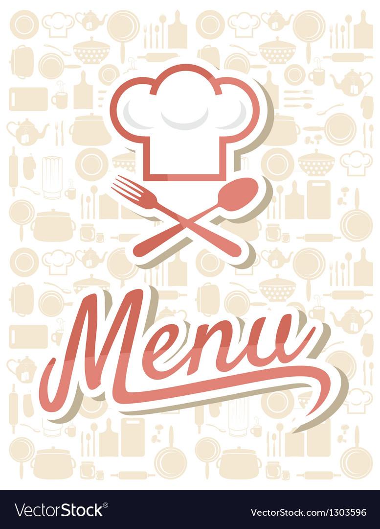 Restaurant menu design vector | Price: 1 Credit (USD $1)