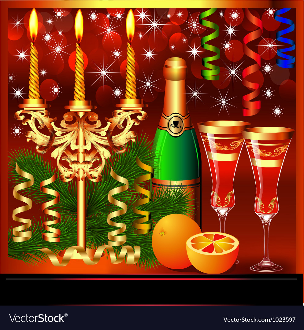Festive party background vector | Price: 1 Credit (USD $1)