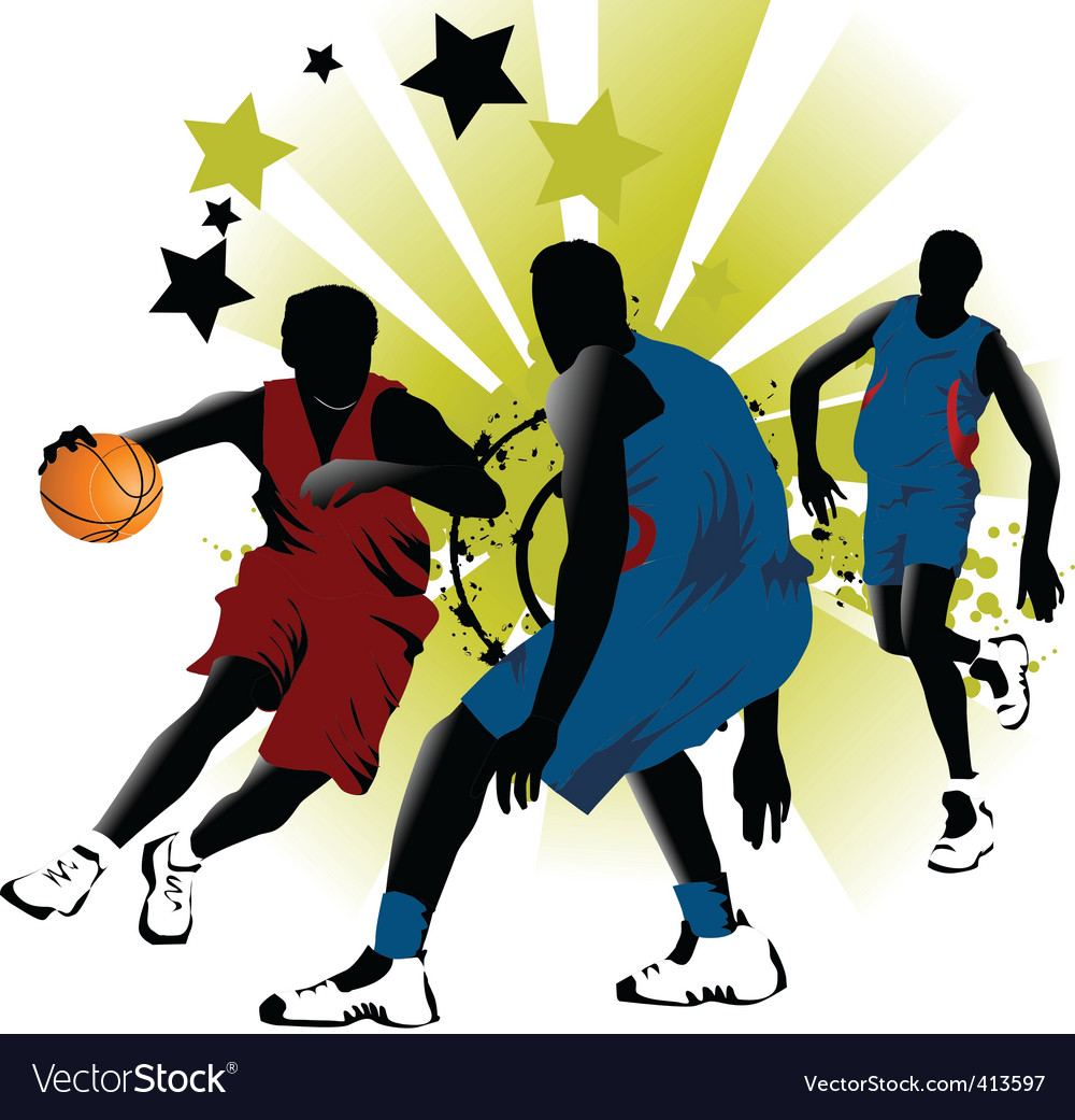 Game basketball vector | Price: 1 Credit (USD $1)