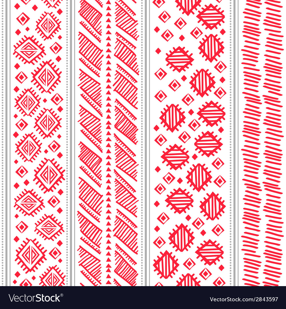 Tribal vintage ethnic seamless vector   Price: 1 Credit (USD $1)
