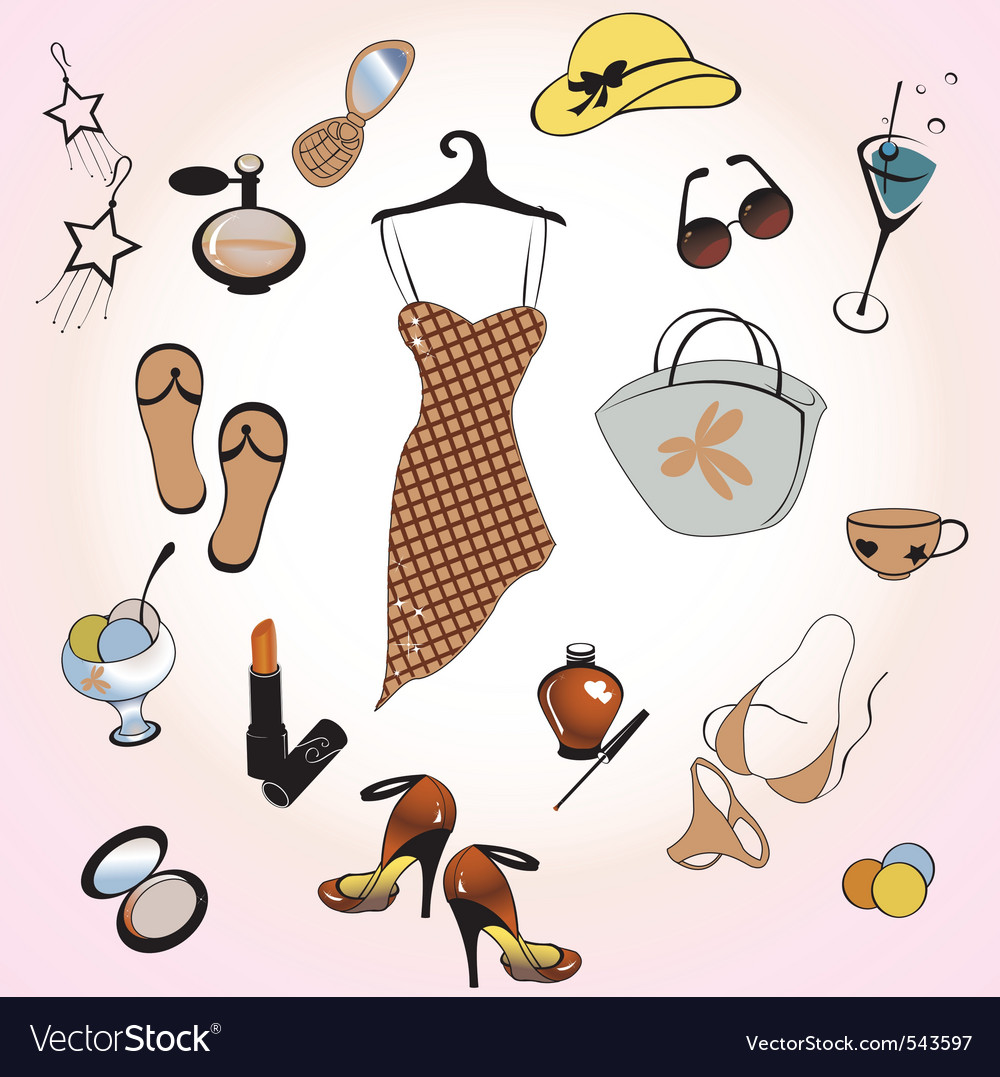 Womans fashion and lifestyle vector | Price: 1 Credit (USD $1)