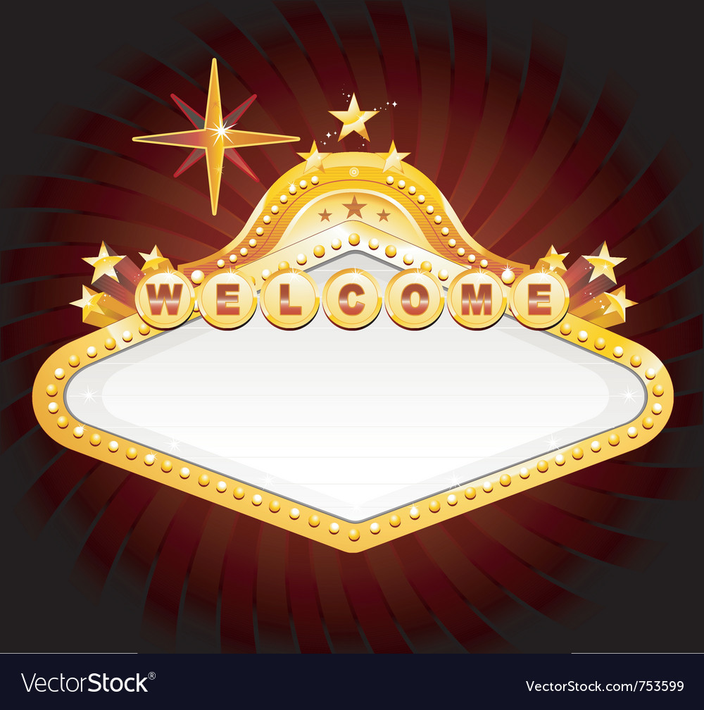 Casino sign vector | Price: 3 Credit (USD $3)