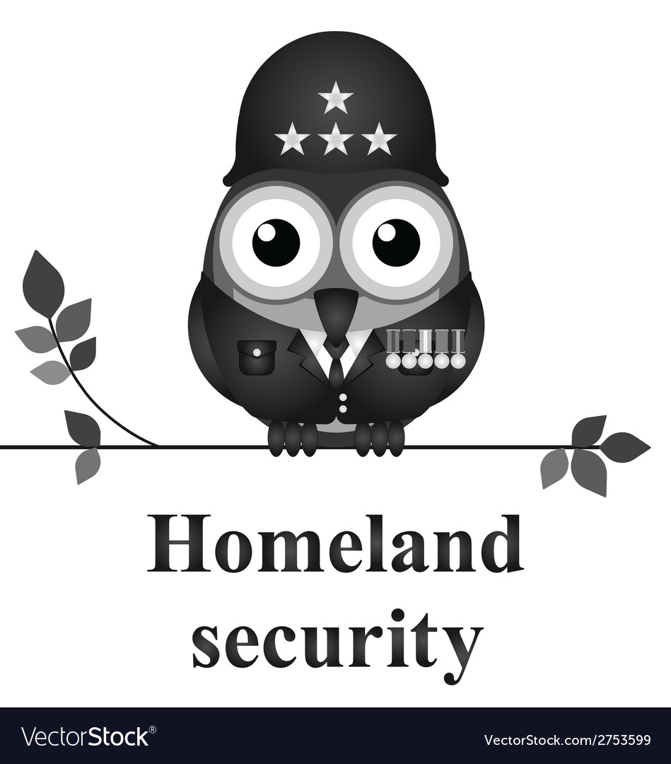 Homeland security vector | Price: 1 Credit (USD $1)