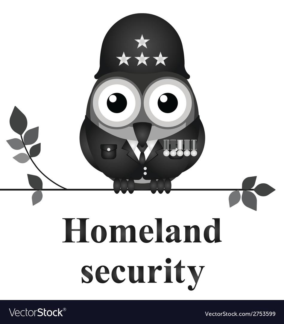 Homeland security vector | Price: 1 Credit (USD $1)