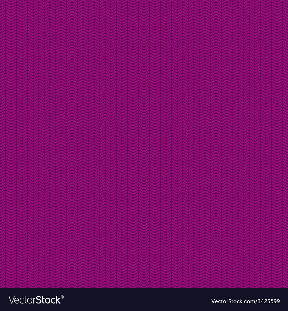 Modern purple seamless knitted texture vector | Price: 1 Credit (USD $1)