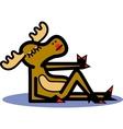 Sexy moose vector