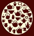 Coffee and tea - vector