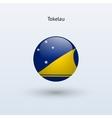 Tokelau round flag vector