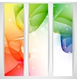 Colorful abstract banner vector