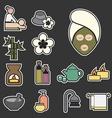 Spa icon vector
