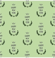 Hand drawn new year seamless pattern vector