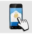 Design concept email write icon vector