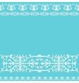 Ornament blue vintage background vector
