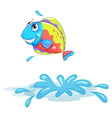 A colourful fish vector